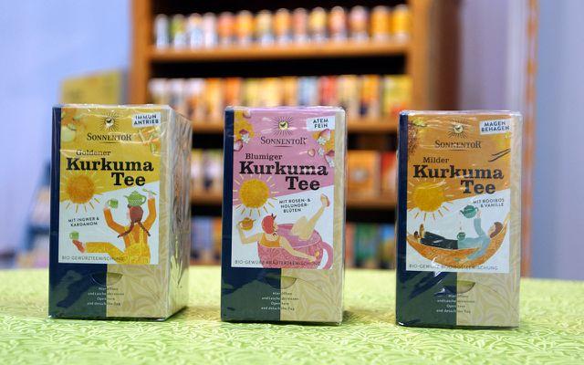 Biowest Messe Kurkuma Tee von Sonnentor