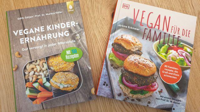 Zwei empfehlenswerte Bücher rund um die vegane Familienküche