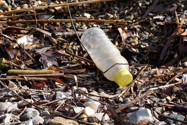 Plastik hat nichts in der Natur zu suchen. Entdeckst du Plastik in der Natur, hebe es auf und entsorge es.