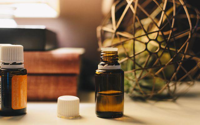 Is ginger oil good for you amber bottle