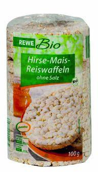 Auch namhafte Anbieter wie Rewe Mais-Hirse-Reiswaffeln schnitten schlecht ab