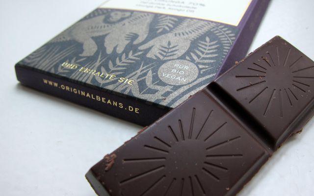 Vegane Schokolade Original Beans