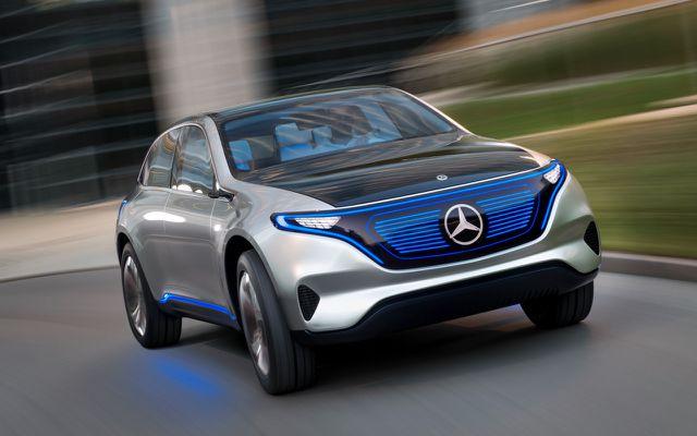 Elektroauto-Studie Mercedes EQ: so sollen die nächsten E-Autos von Daimler aussehen
