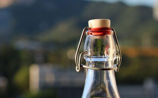 making distilled water bottle