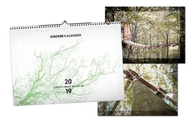 enorm Wandkalender 2019 Hambacher Forst