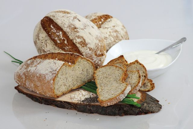 Chia seeds can be a good and healthy add on to your homemade bread.