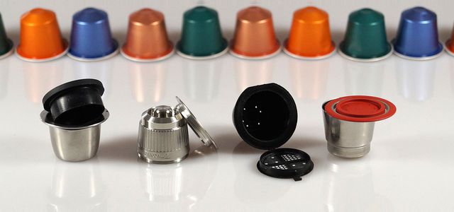 Refillable Coffee Maker capsules