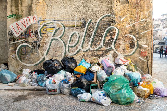 Ironic Plastic Garbage