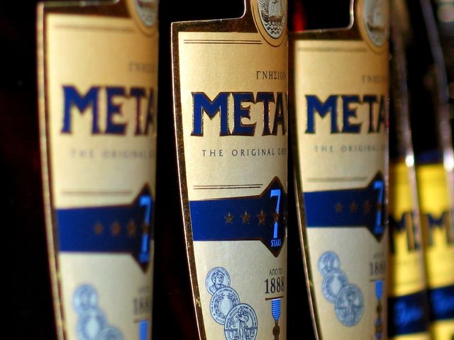 Metaxa gibt es bereits seit 1888.