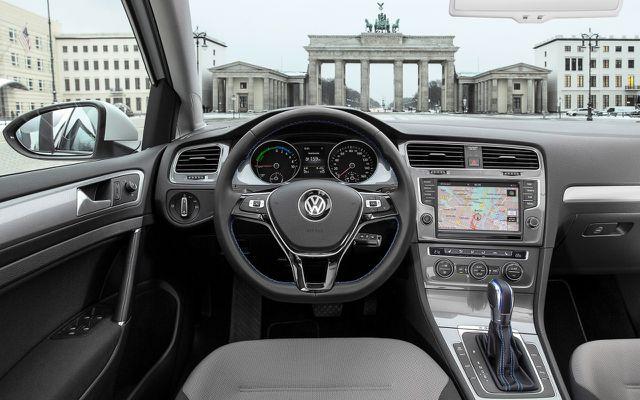 der VW e-Golf innen