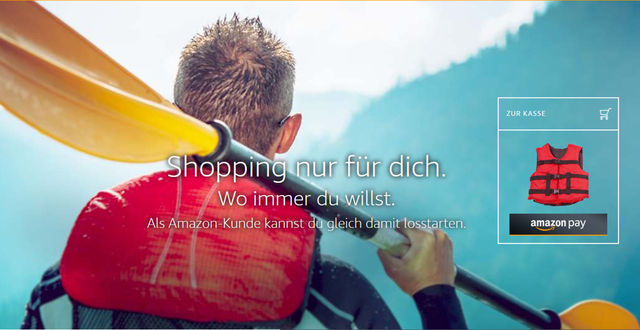 PayPal-Alternative Amazon Pay