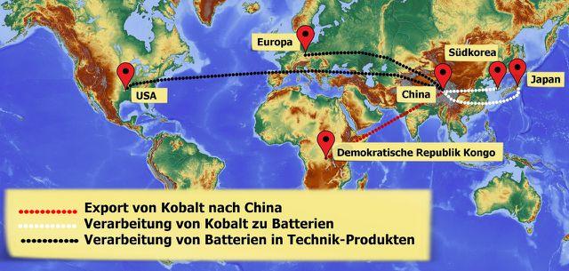 Kobalt: Vom Bergwerk zum Smartphone