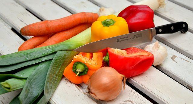 Gemüse der Saison eigent sich bestens für die Sticks.