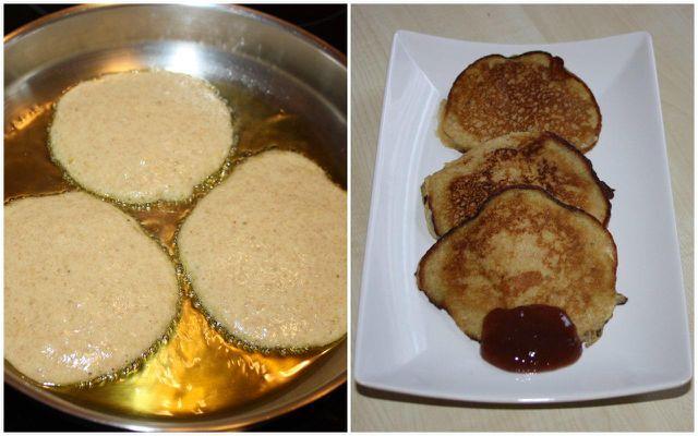 In Pancakes lassen sich reife Bananen schnell und einfach verwerten.