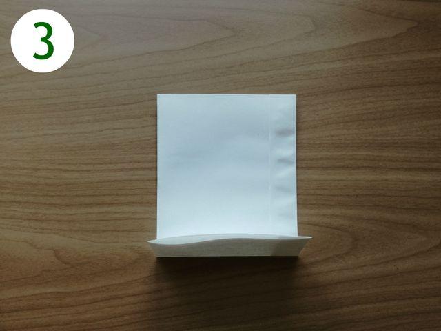 Papiertüten basteln: Schritt 3