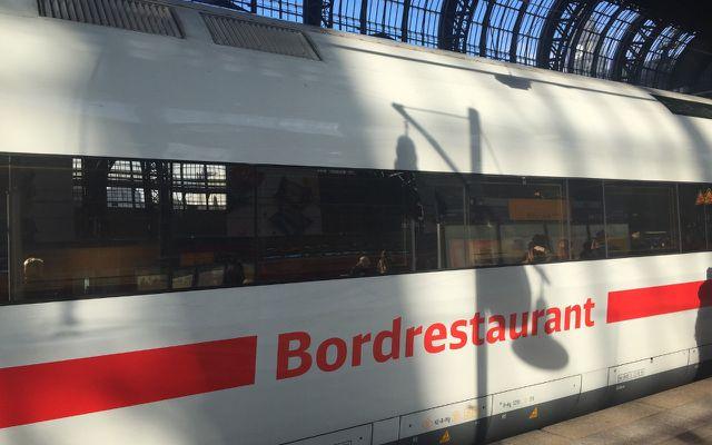Günstige Bahntickets, ICE Boardrestaurant
