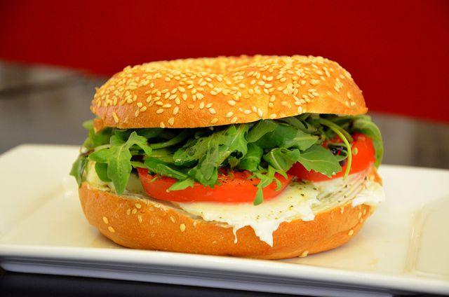 Gemüse-Burger: optimal für jedes Picknick