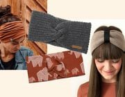 Ob aus Bio-Baumwolle, Bio-Wolle oder Hanf: Stirnbänder für Herbst und Winter gibt es auch in nachhaltig.