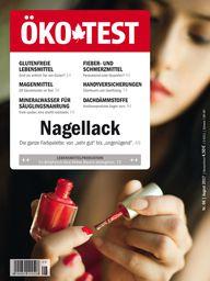 Öko-Test Ausgabe August 2017