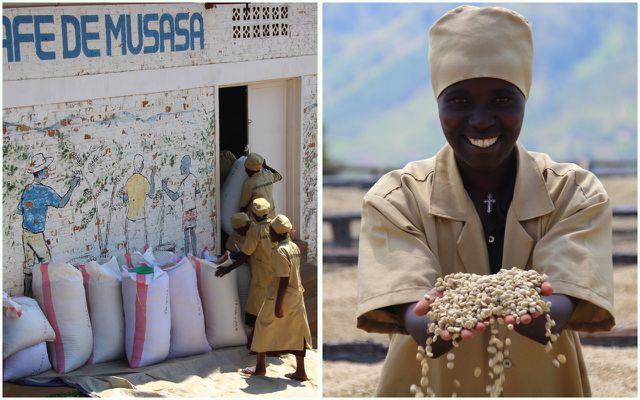 Der Kaffee kommt aus der Musasa Dukundekawa Kaffee-Kooperative