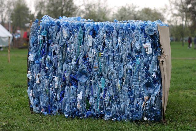 34 Prozent des recycelten PETs gelangen wieder in Getränkeflaschen.
