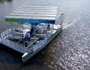 Der Circular Explorer ist das neue solarbetriebene Müllsammelschiff von One Earth - One Ocean.
