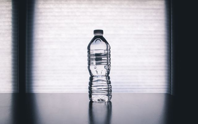 Tap water vs. bottled water PET bottle