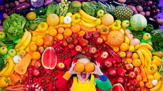 Vegane Ernährung für Kinder: Bunt wie der Regenbogen