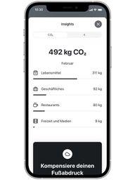Tomorrow Bank App CO2 Rechner