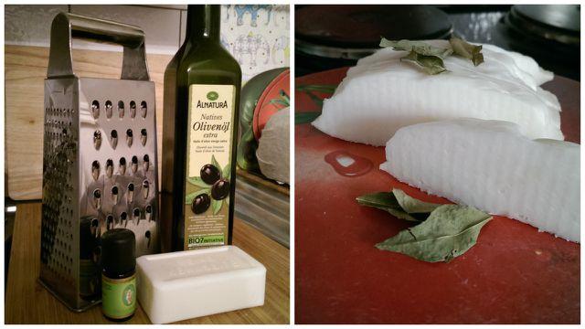 Olivenölseife selbst gemacht