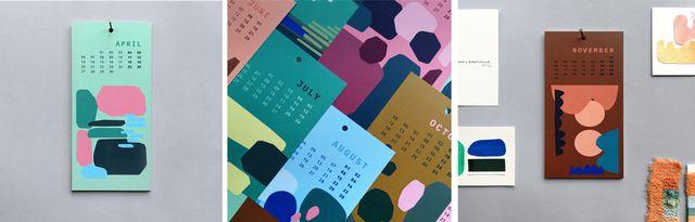 Kalender 2020: Nachhaltiger Postkartenkalender