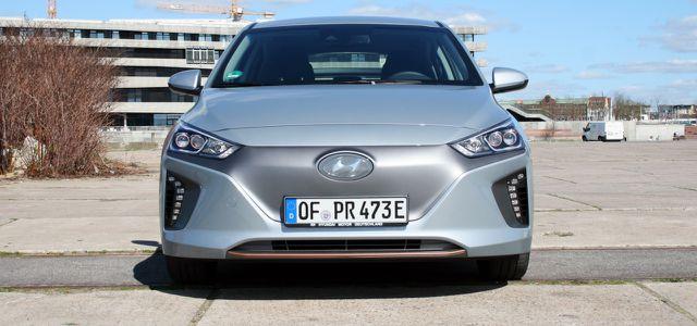 Ioniq Electric: maximale Reichweite laut Hyundai 280 Kilometer