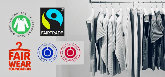 Nachhaltige Kleidung Siegel