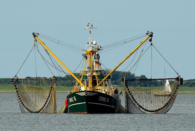 Die Besatzung eines Schiffes ist auch gesetzlich für ihre Netze verantwortlich.