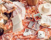 Mutter-Picknick-Familie