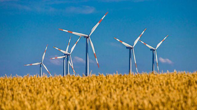 Neue Rekord bei Windenergie im Strommix.