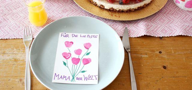 Muttertagskarten Basteln.Muttertagskarten Basteln ღ 3 Einfache Diy Ideen Zum
