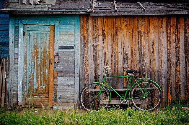 Lackiere dein Fahrrad an einem gut belüfteten Ort.