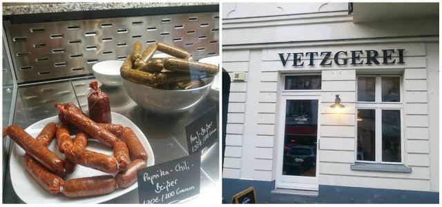 Vetzgerei Berlin, vegane Metzgerei