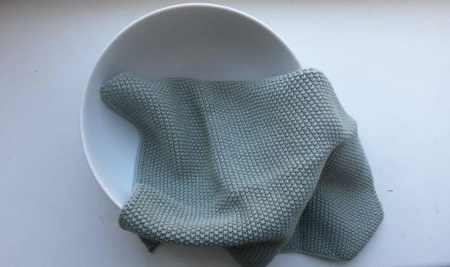Dänische Spültücher kannst du ganz leicht selber stricken.