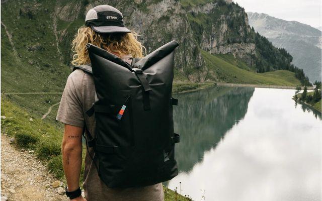 Nachhaltige Wanderrucksäcke: Rolltop Backpack von Got Bag
