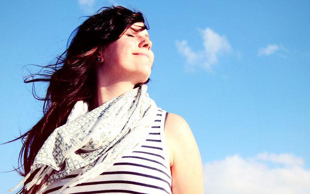 Achtsamkeitsübung: bewusst atmen