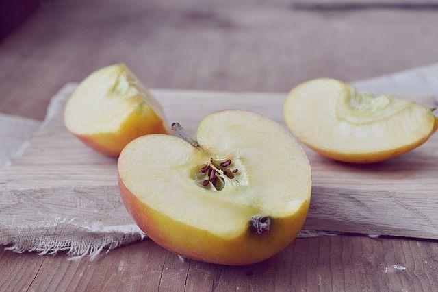 Äpfel mit Kernen essen? Kein Problem.
