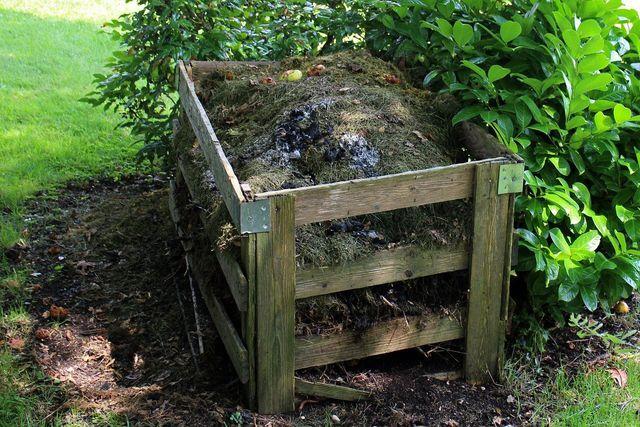 Um zu vermeiden, dass dein Abfall in der Müllverbrennung landet, kannst du für Biomüll einen Kompost anlegen.