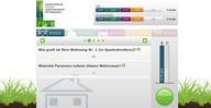 So sieht der  CO₂-Rechner des Ministerium für ein Lebenswertes Österreich aus