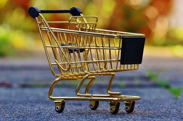 Corona Learning: Der Einkaufswagen darf ruhig mal leer bleiben.