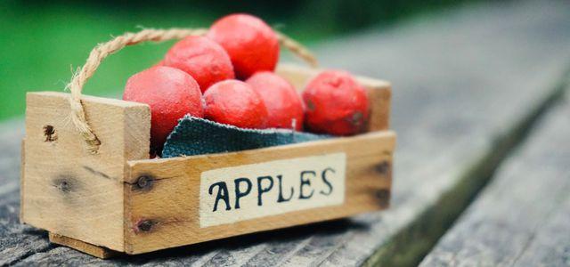 Storing apples proper techniques