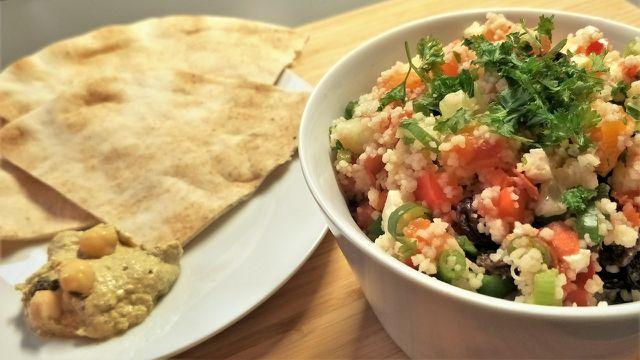 Ein leckerer Couscous-Salat