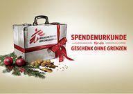 Geschenkspende: Ärzte ohne Grenzen