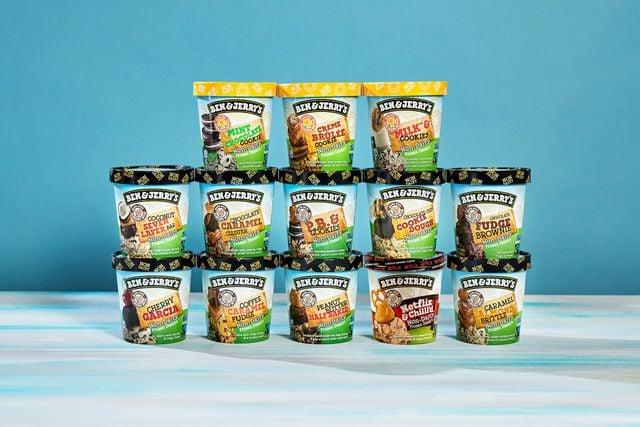 Ben & Jerry's: vegan ice-cream with sunflower butter